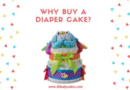why buy a diaper cake